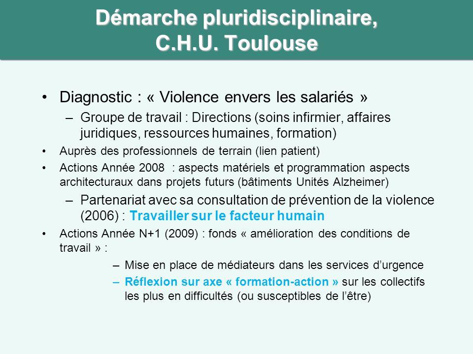 Démarche pluridisciplinaire, C.H.U. Toulouse