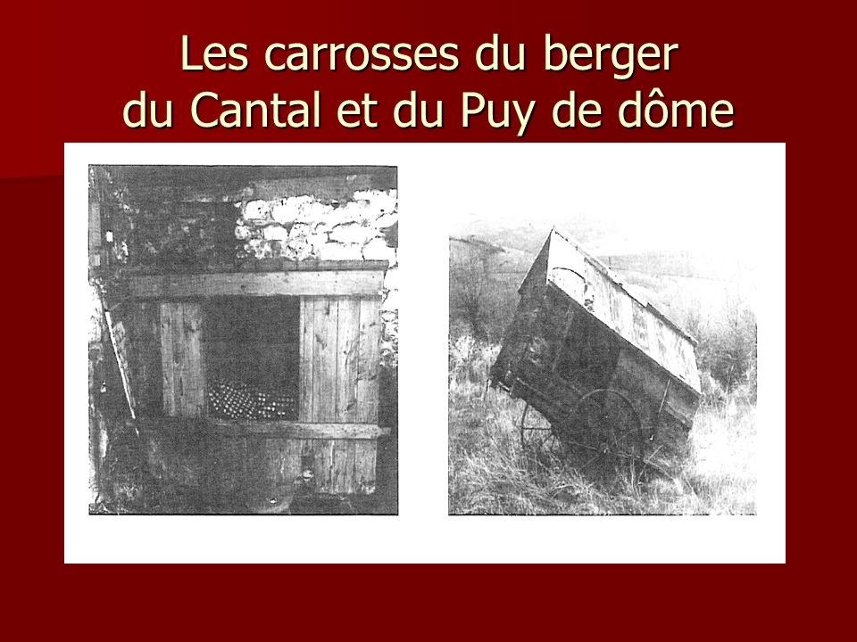 Les carrosses du berger du Cantal et du Puy de dôme