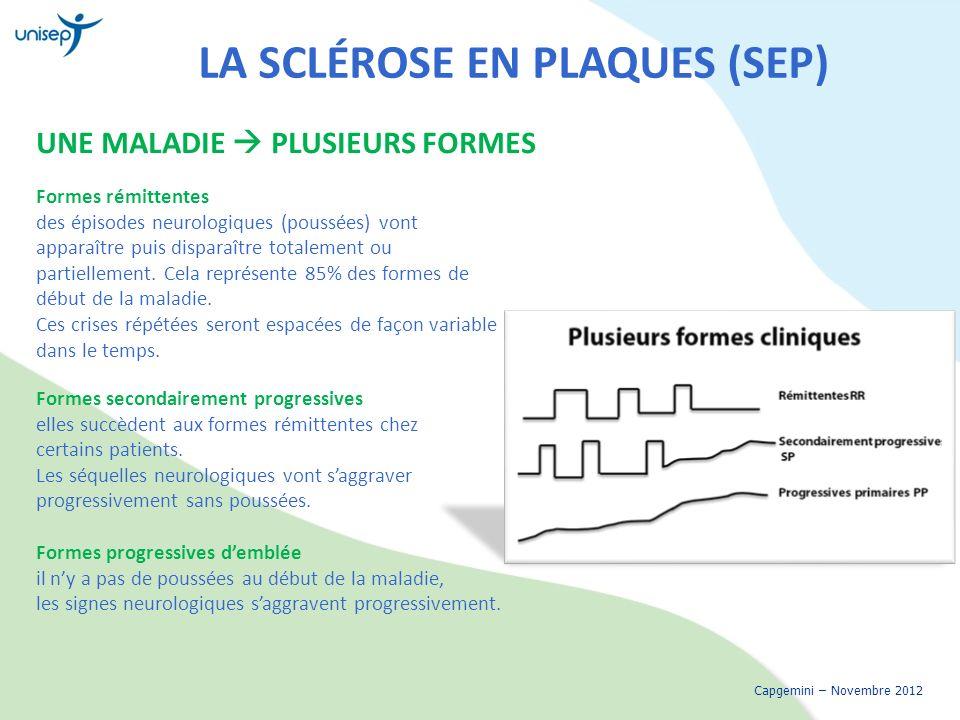 La sclérose en plaques (SEP)