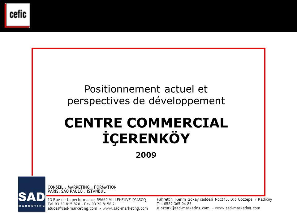 CENTRE COMMERCIAL İÇERENKÖY VAL D'EUROPE - ETUDE CLIENTELE - Juin 2008
