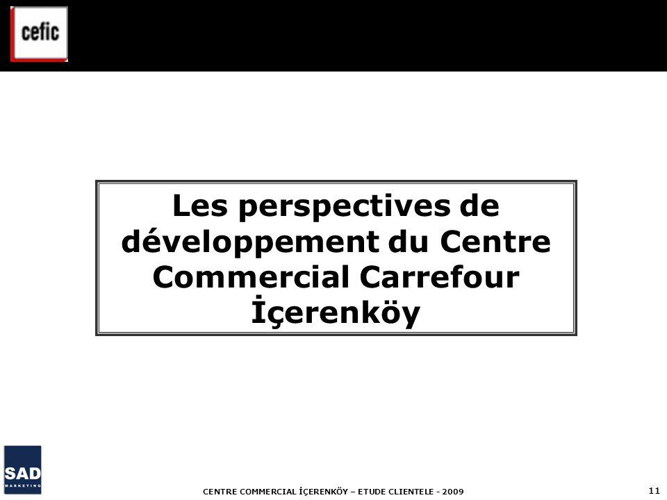 Les perspectives de développement du Centre Commercial Carrefour İçerenköy