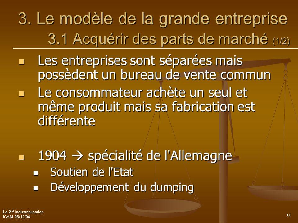 3. Le modèle de la grande entreprise. 3