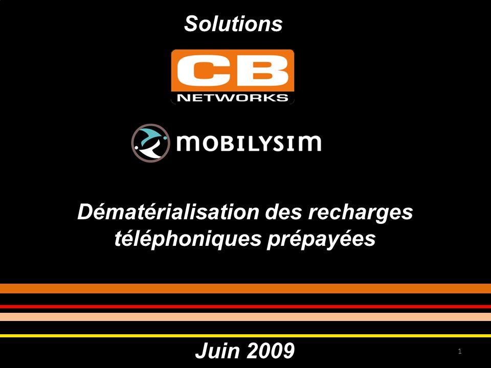 Dématérialisation des recharges téléphoniques prépayées