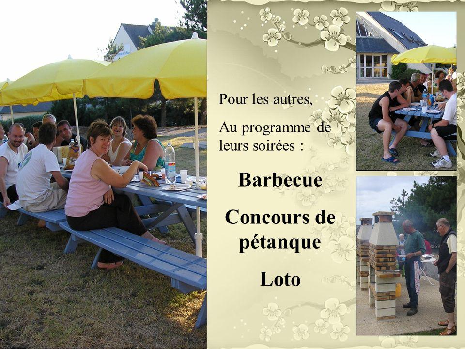 Barbecue Concours de pétanque Loto