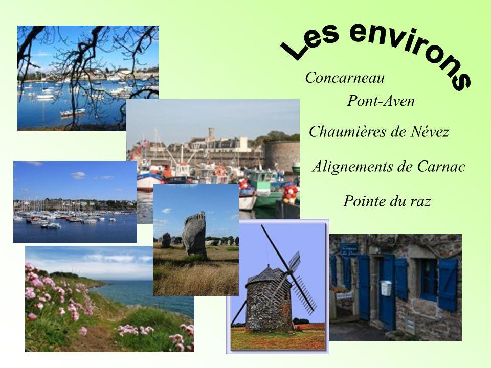 Les environs Concarneau Pont-Aven Chaumières de Névez