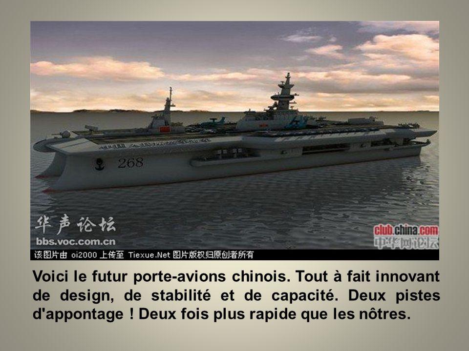 Voici le futur porte-avions chinois