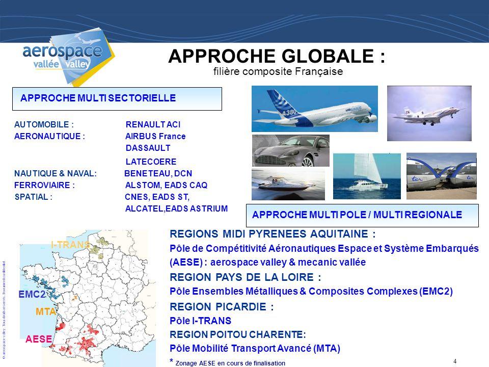 APPROCHE GLOBALE : filière composite Française