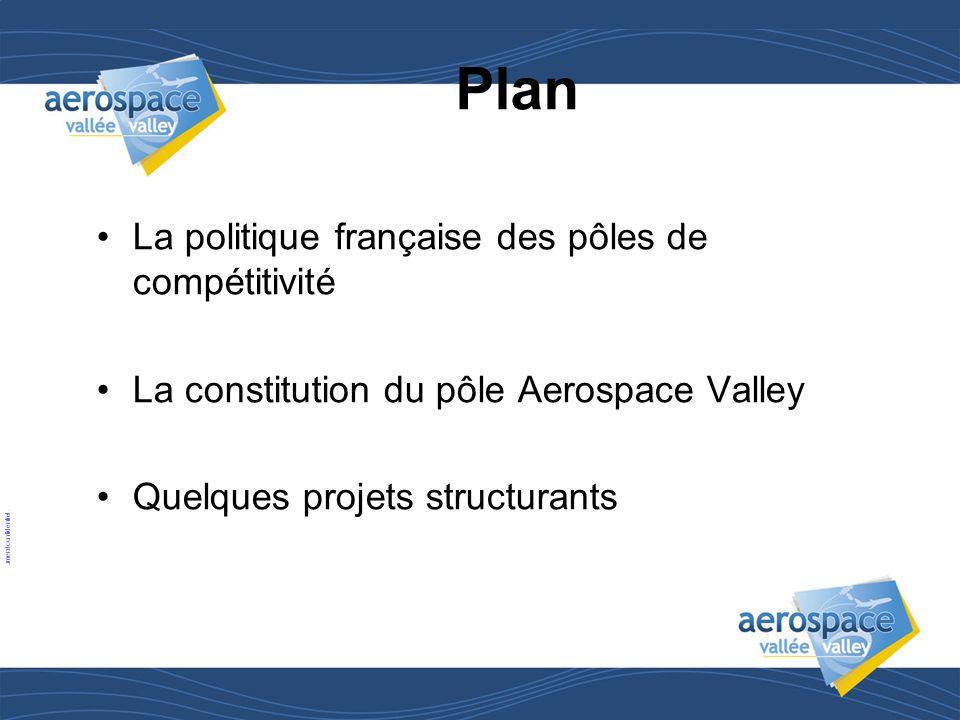 Plan La politique française des pôles de compétitivité