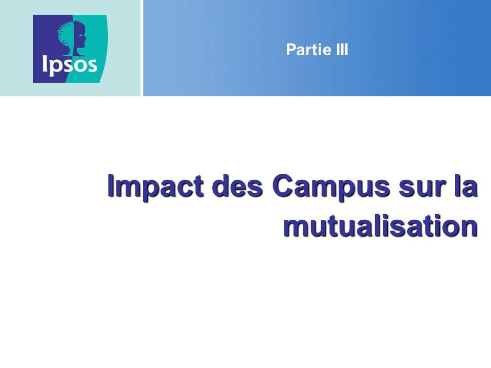 Impact des Campus sur la mutualisation