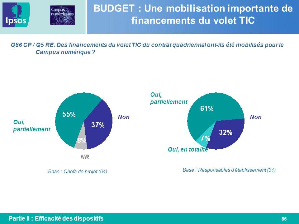 BUDGET : Une mobilisation importante de financements du volet TIC