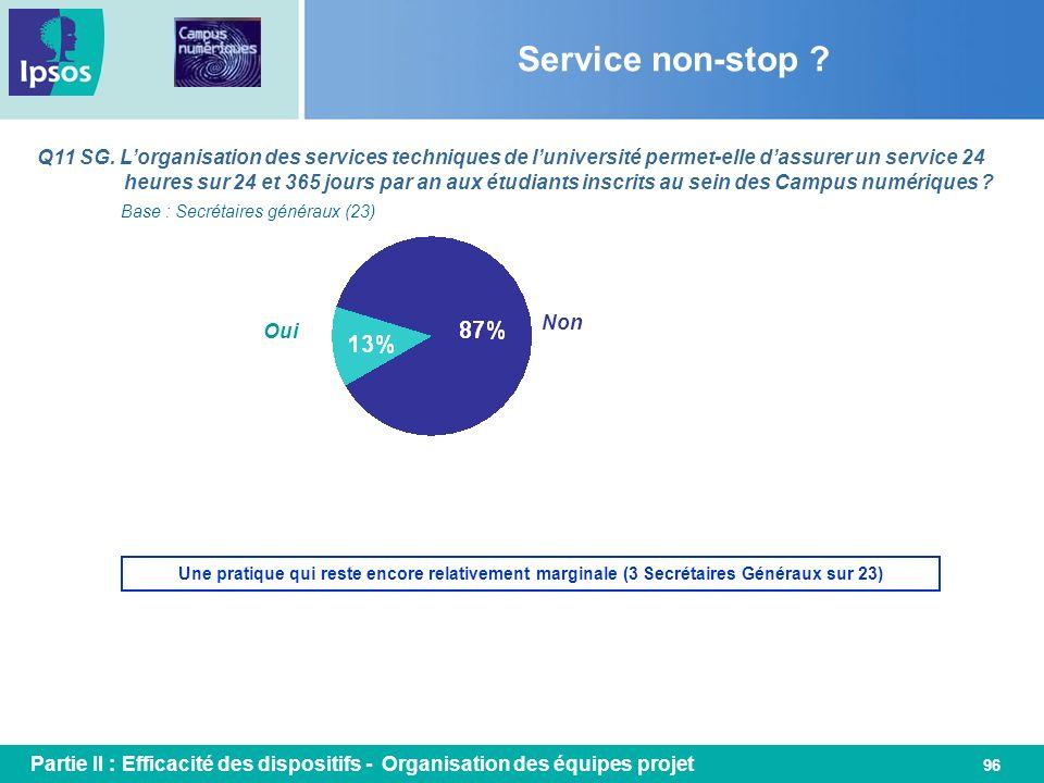 Service non-stop