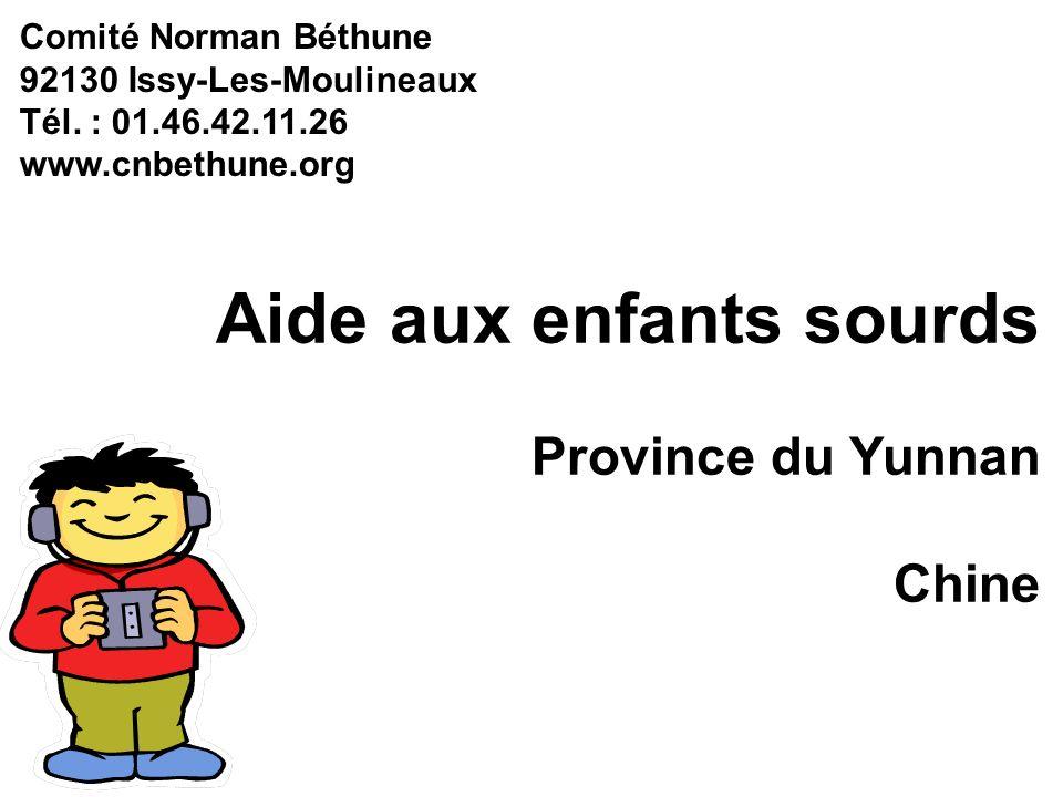 Aide aux enfants sourds