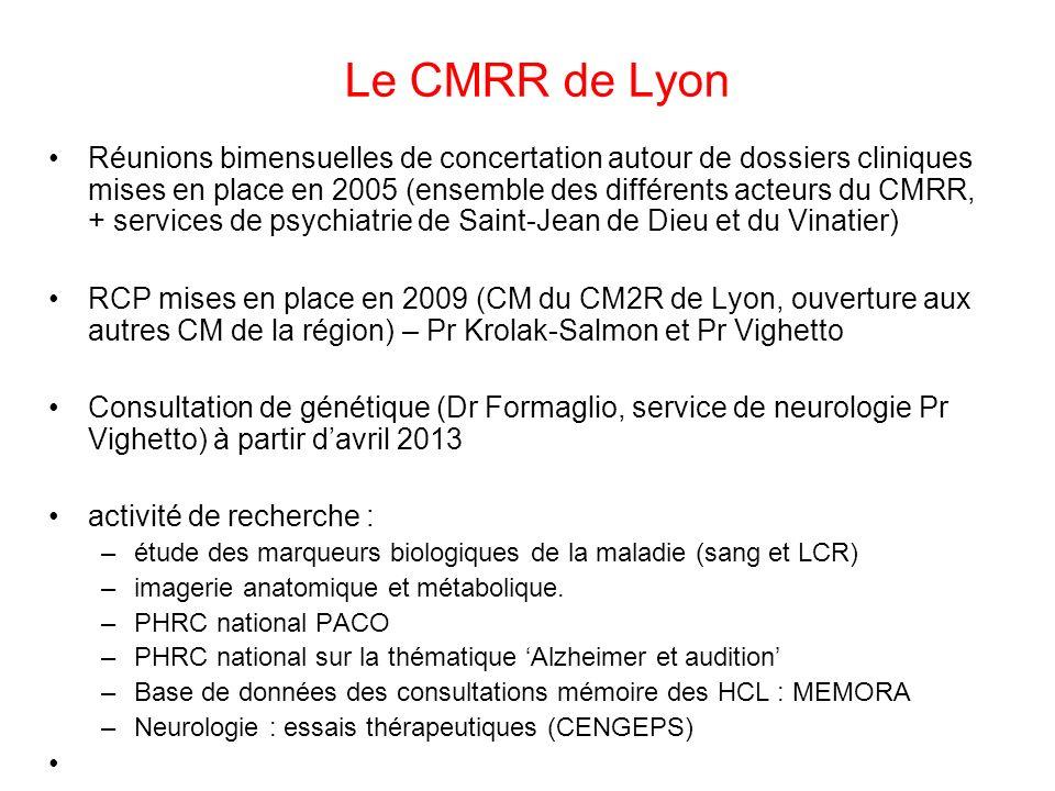 Le CMRR de Lyon
