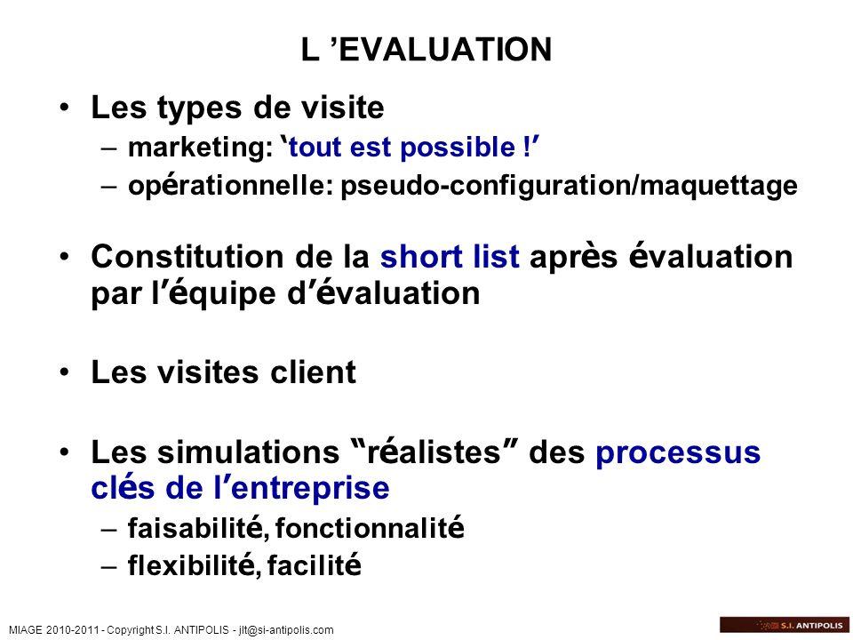 Les simulations réalistes des processus clés de l'entreprise