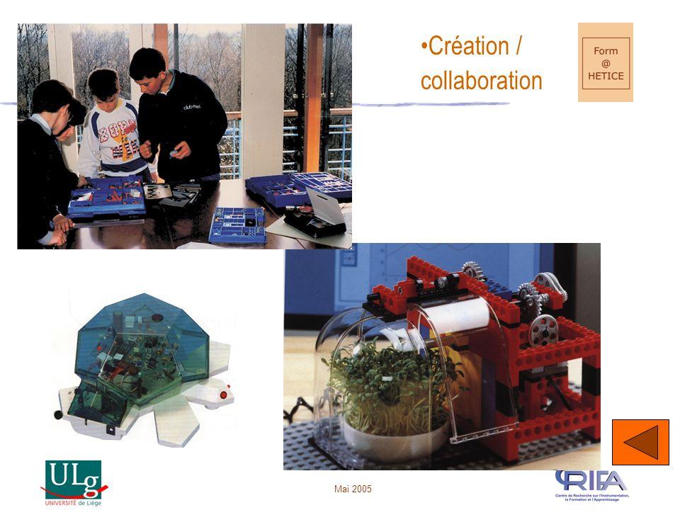 Création / collaboration Mai 2005