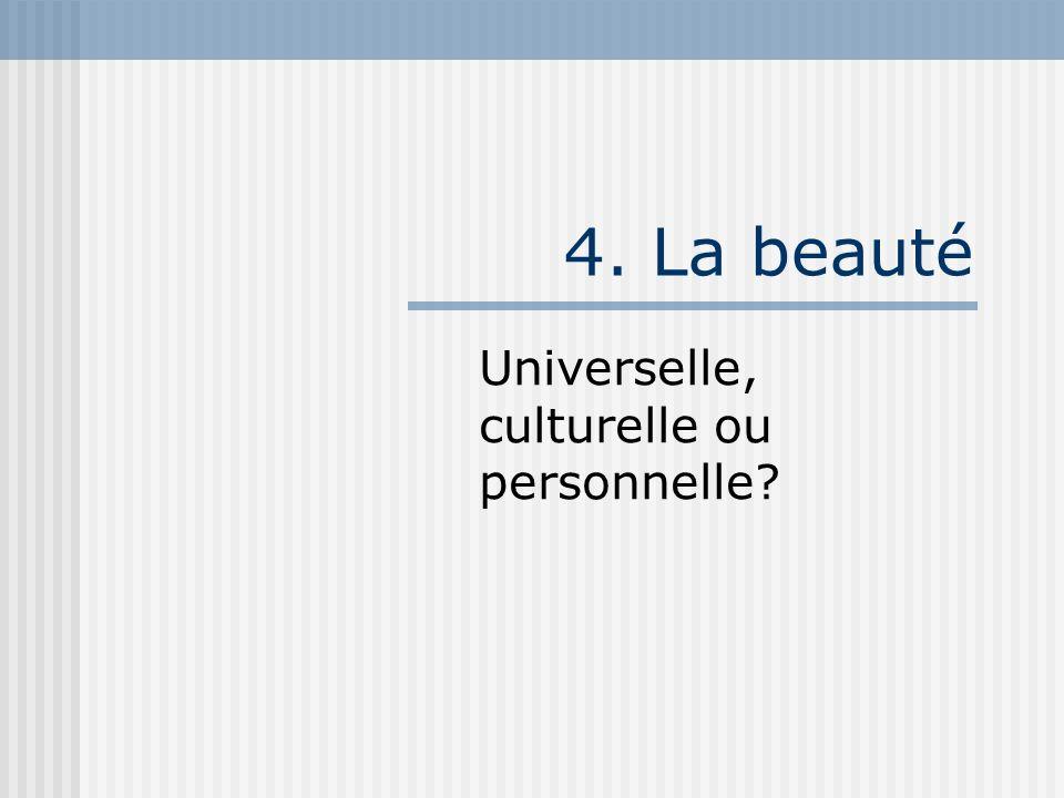 Universelle, culturelle ou personnelle