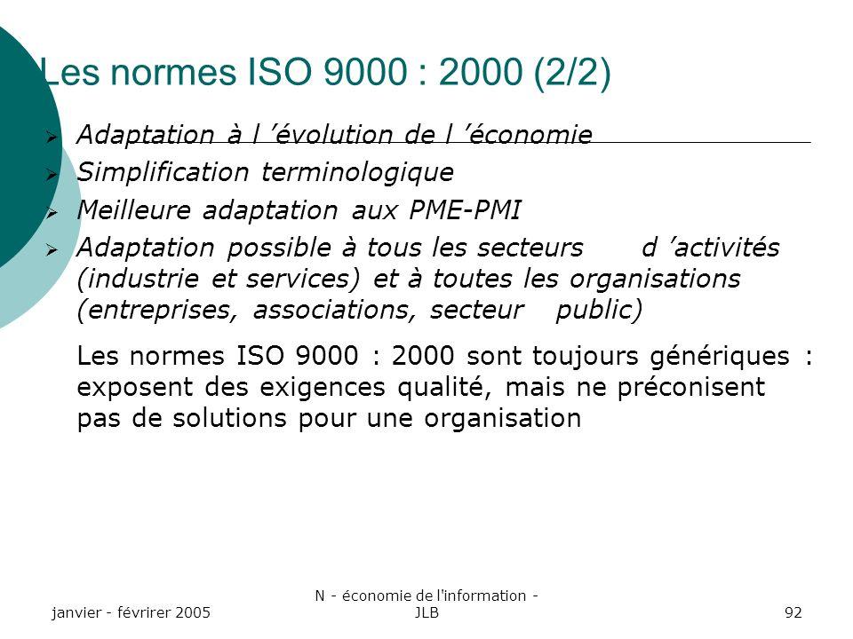 N - économie de l information - JLB