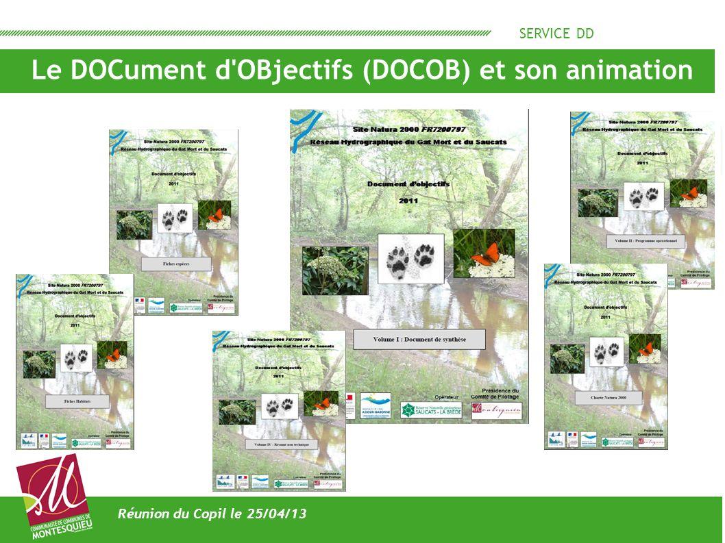 Le DOCument d OBjectifs (DOCOB) et son animation