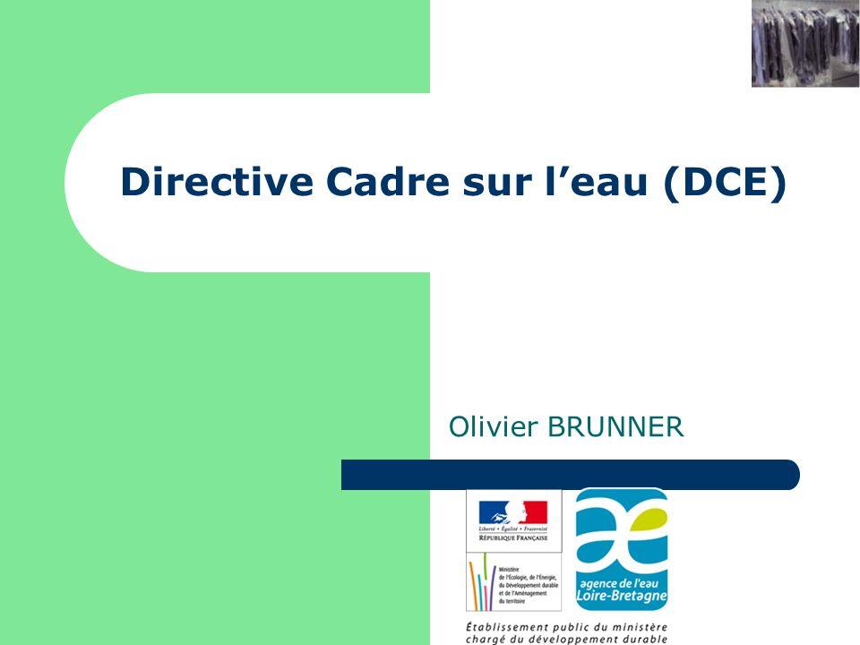 Directive Cadre sur l'eau (DCE)