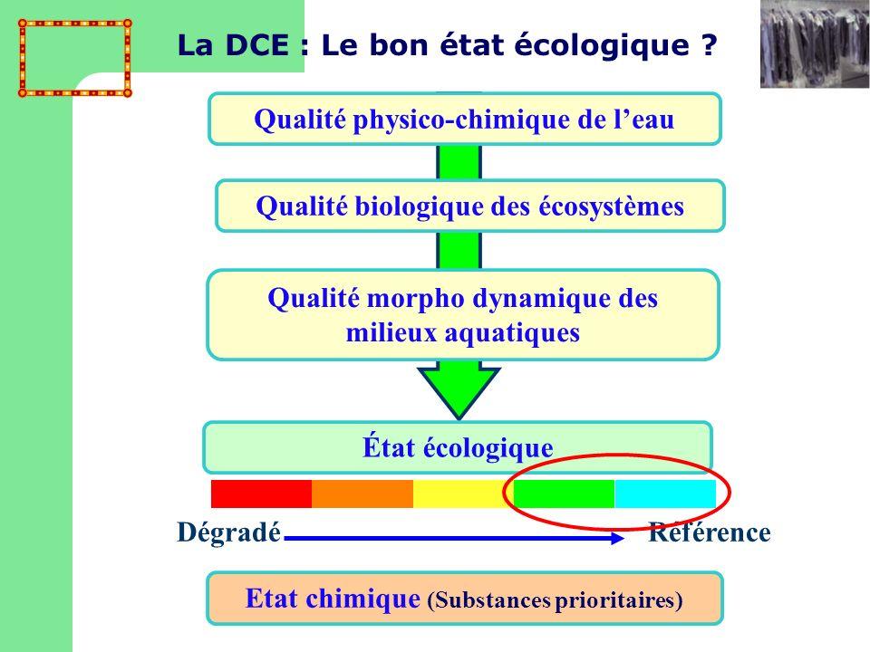 La DCE : Le bon état écologique