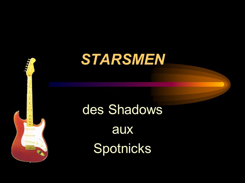 des Shadows aux Spotnicks