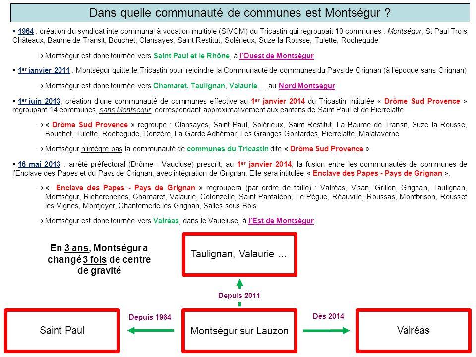 Dans quelle communauté de communes est Montségur