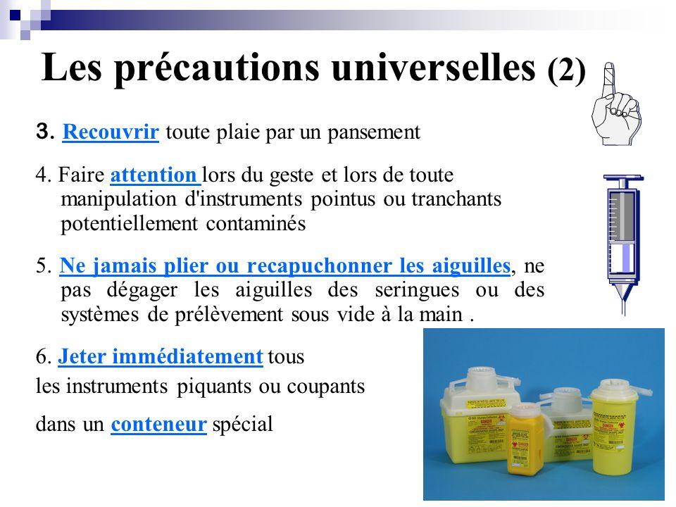 Les précautions universelles (2)