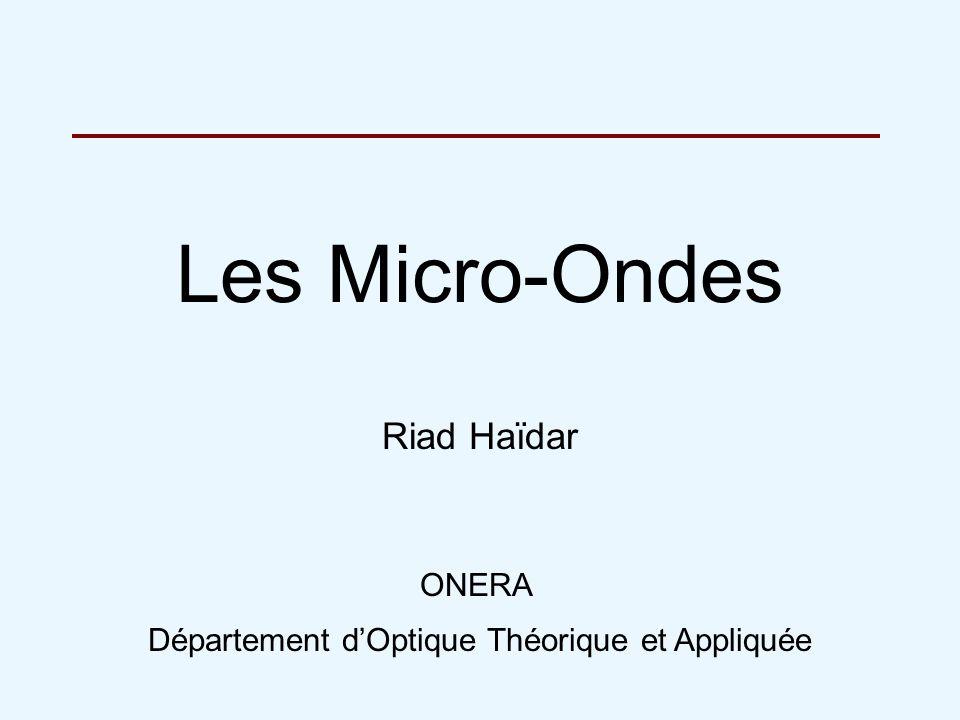Département d'Optique Théorique et Appliquée