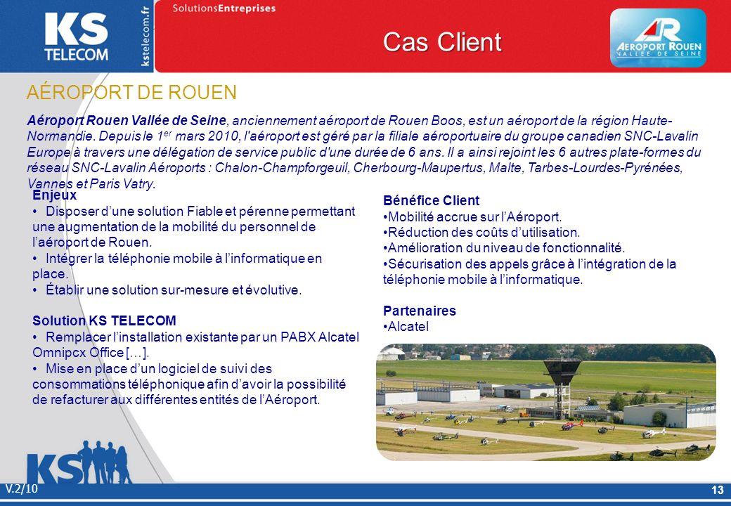 Cas Client AÉROPORT DE ROUEN
