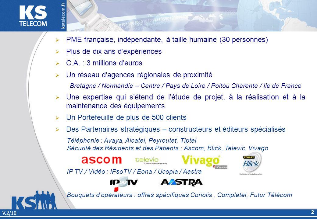PME française, indépendante, à taille humaine (30 personnes)