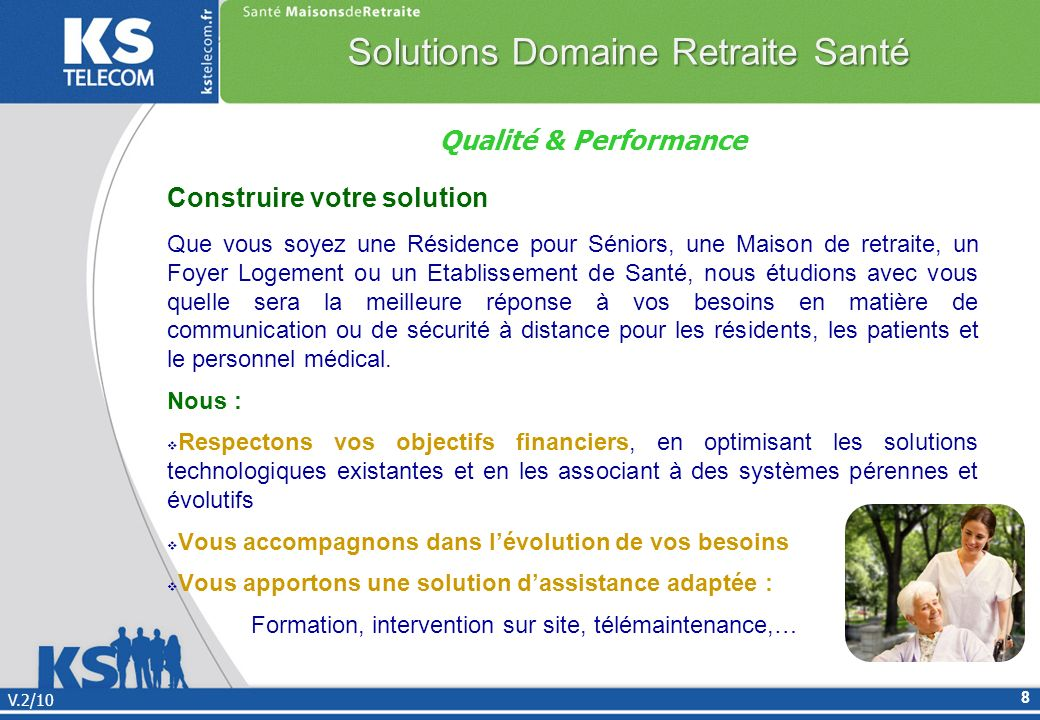 Solutions Domaine Retraite Santé