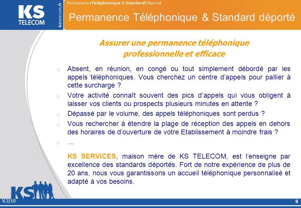Permanence Téléphonique & Standard déporté