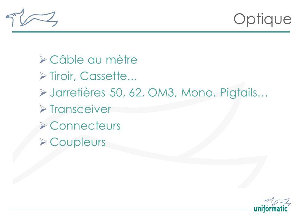 Optique Câble au mètre Tiroir, Cassette...