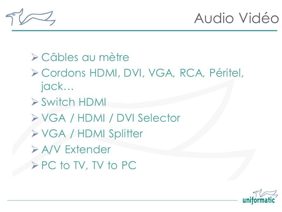 Audio Vidéo Câbles au mètre
