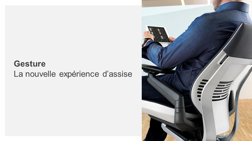 Gesture La nouvelle expérience d'assise