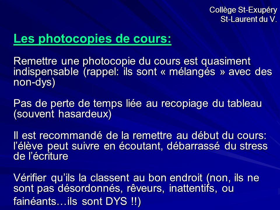 Collège St-Exupéry St-Laurent du V.