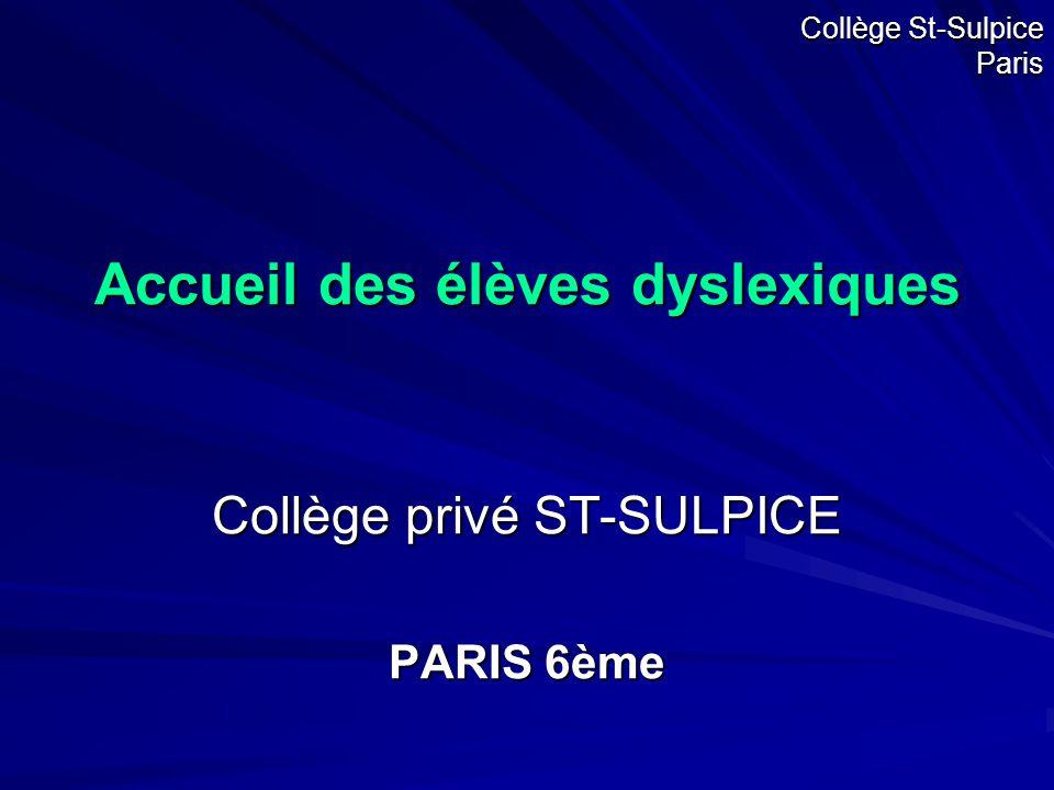 Collège St-Sulpice Paris