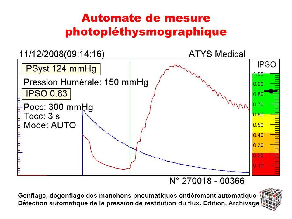 Automate de mesure photopléthysmographique