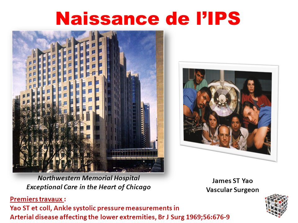 Naissance de l'IPS Northwestern Memorial Hospital James ST Yao