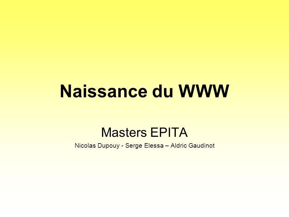 Masters EPITA Nicolas Dupouy - Serge Elessa – Aldric Gaudinot