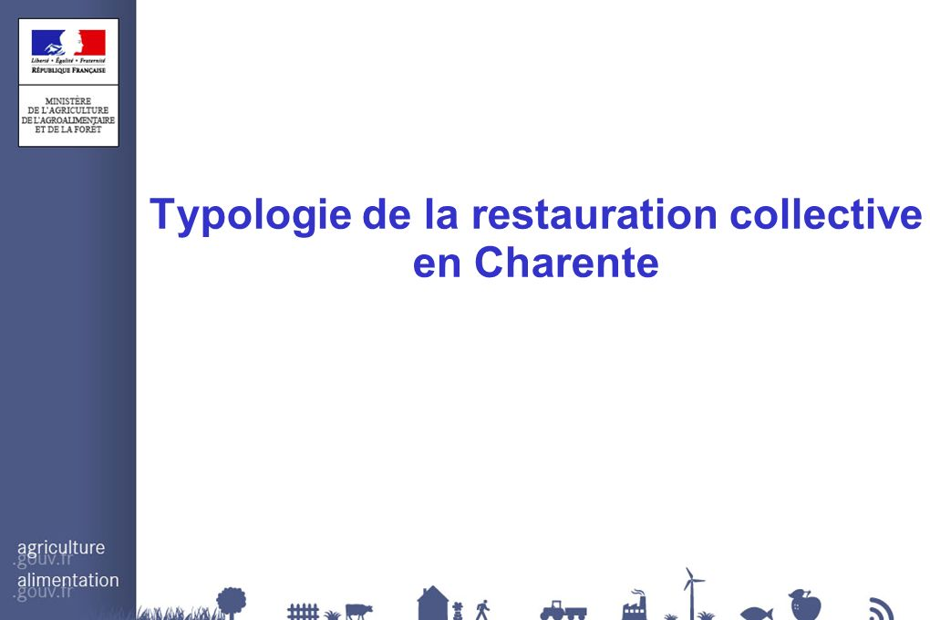 Typologie de la restauration collective en Charente