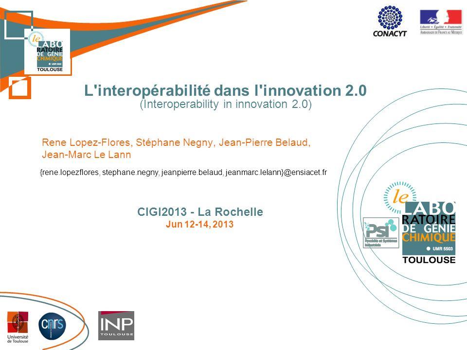 L interopérabilité dans l innovation 2