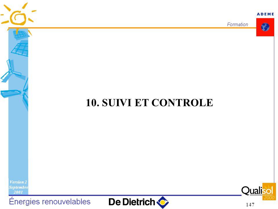 10. SUIVI ET CONTROLE 10