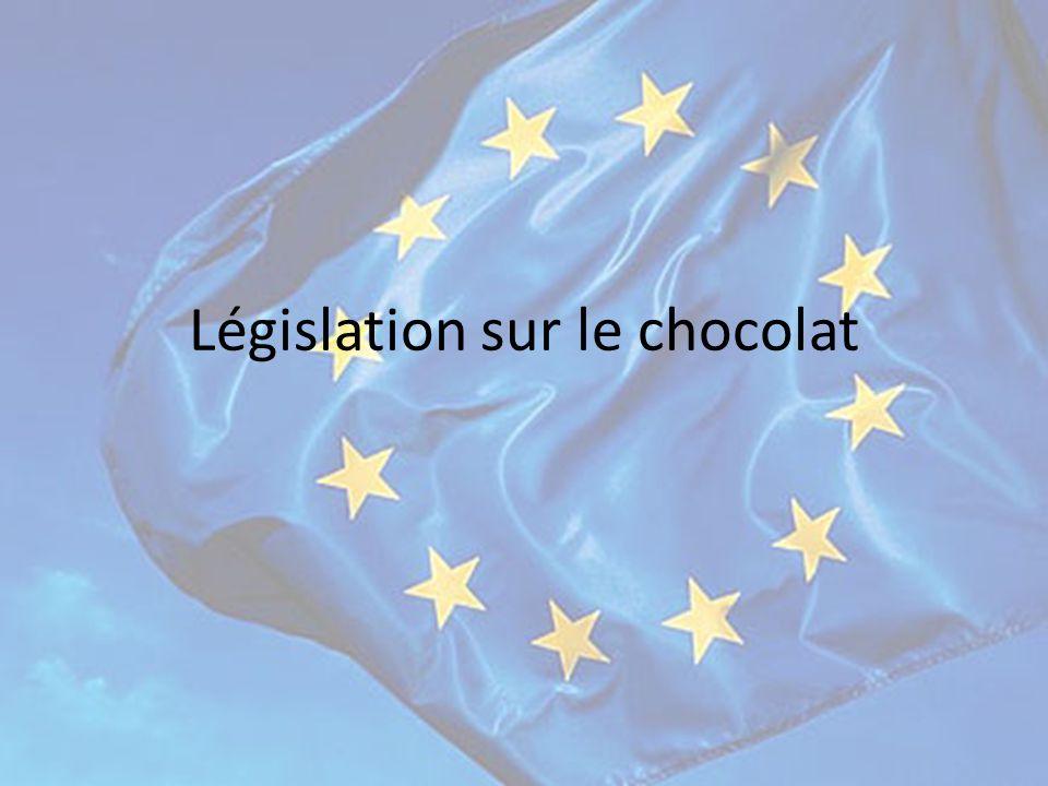 Législation sur le chocolat