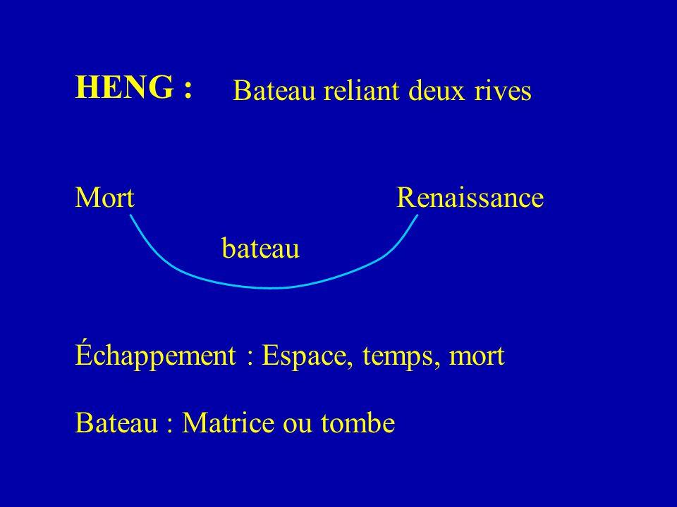 HENG : Bateau reliant deux rives Mort Renaissance bateau