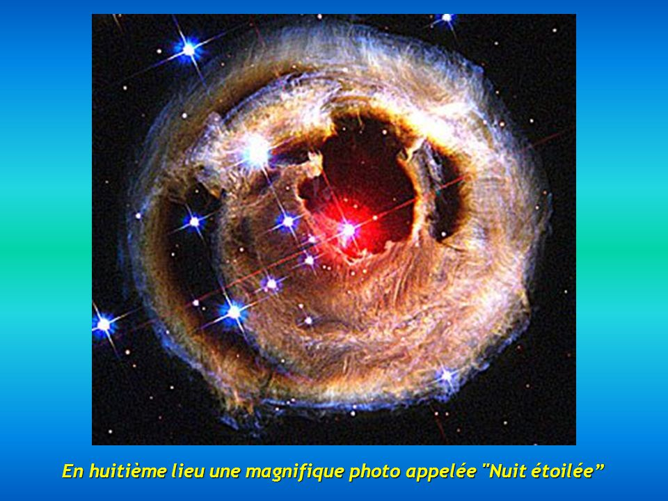 En huitième lieu une magnifique photo appelée Nuit étoilée
