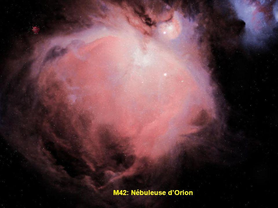 M42: Nébuleuse d'Orion