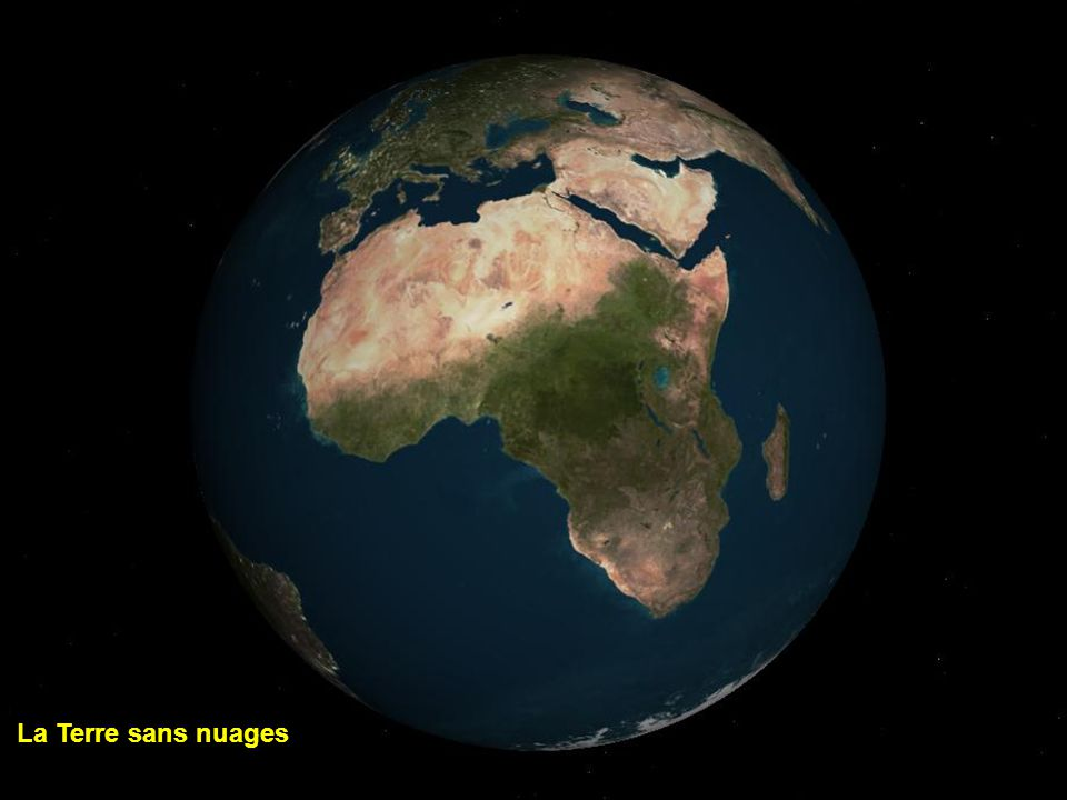 La Terre sans nuages