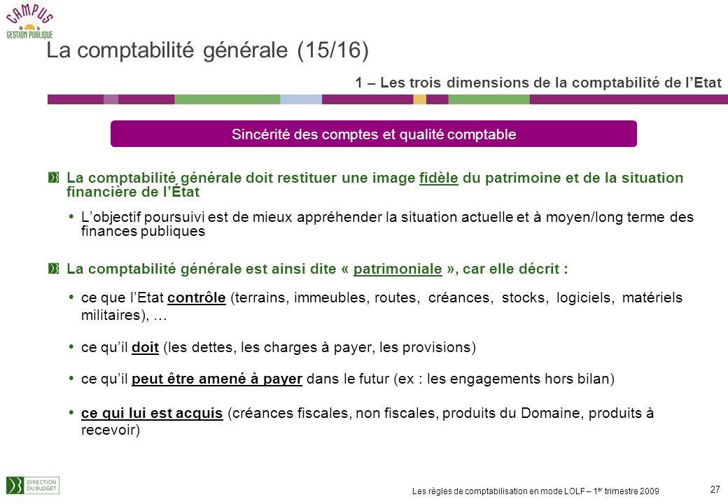 La comptabilité générale (15/16)
