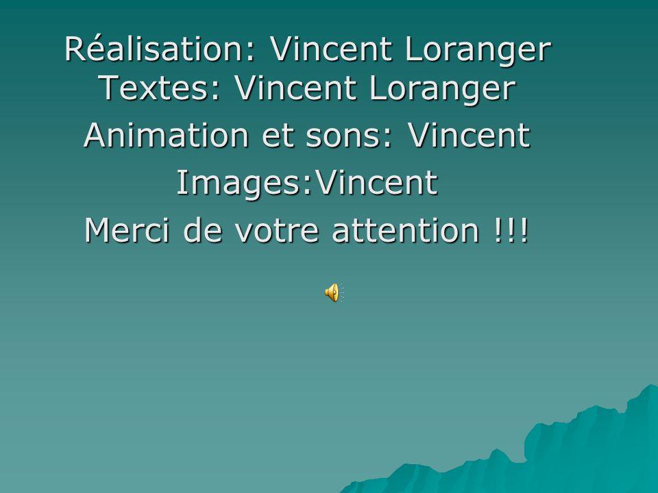 Réalisation: Vincent Loranger Textes: Vincent Loranger